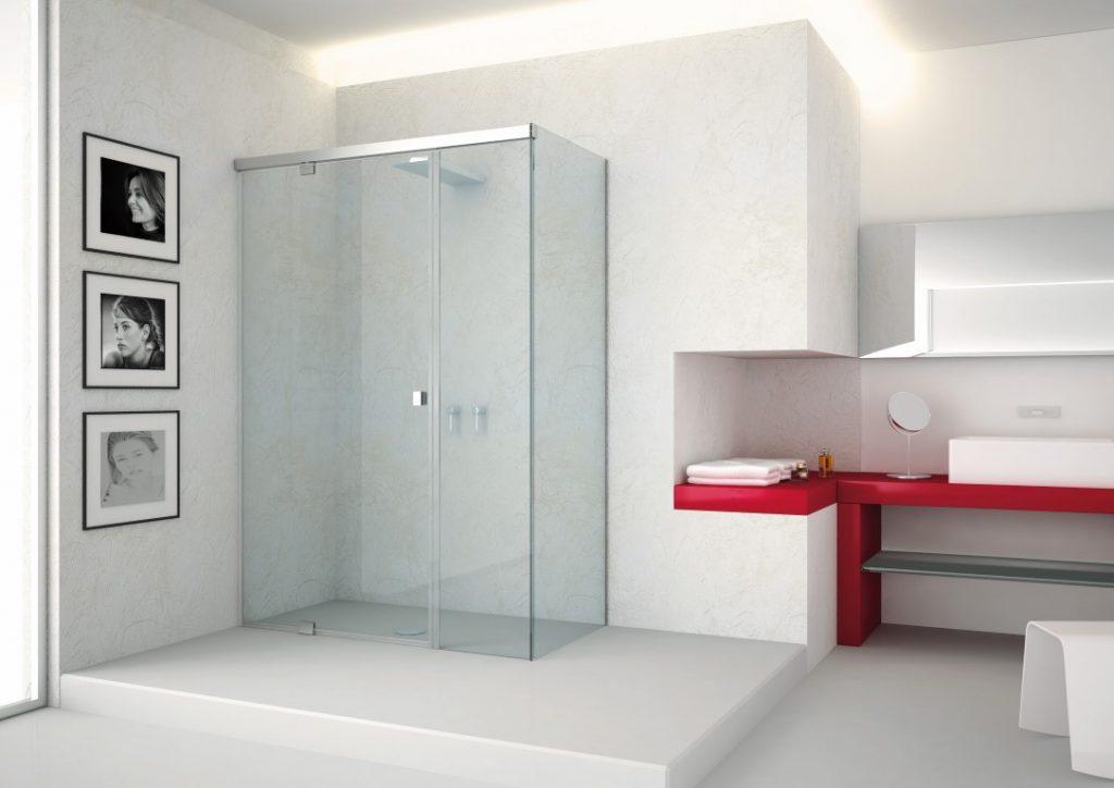 Badkamer Douchewand Glas : Badkamer design van van reenen glas