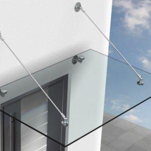 Luifelsysteem glas