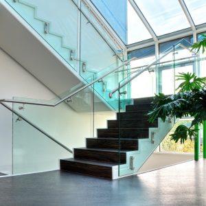 Q-railing Glas combinatie
