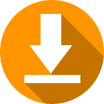 Download pijl oranje